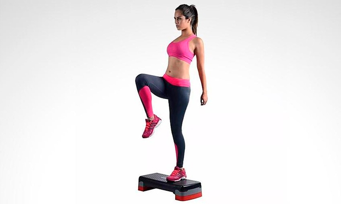 S/ 84.90 por Step Regulable De 2 Pisos Para Aerobics